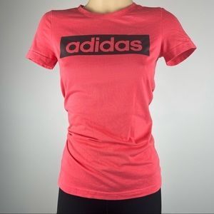 Adidas Climalite Red T-Shirt - Size XS - Excellent